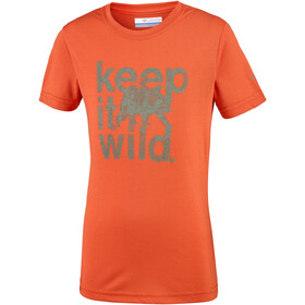 Columbia Mini Ridge Tee Boys tangy orange